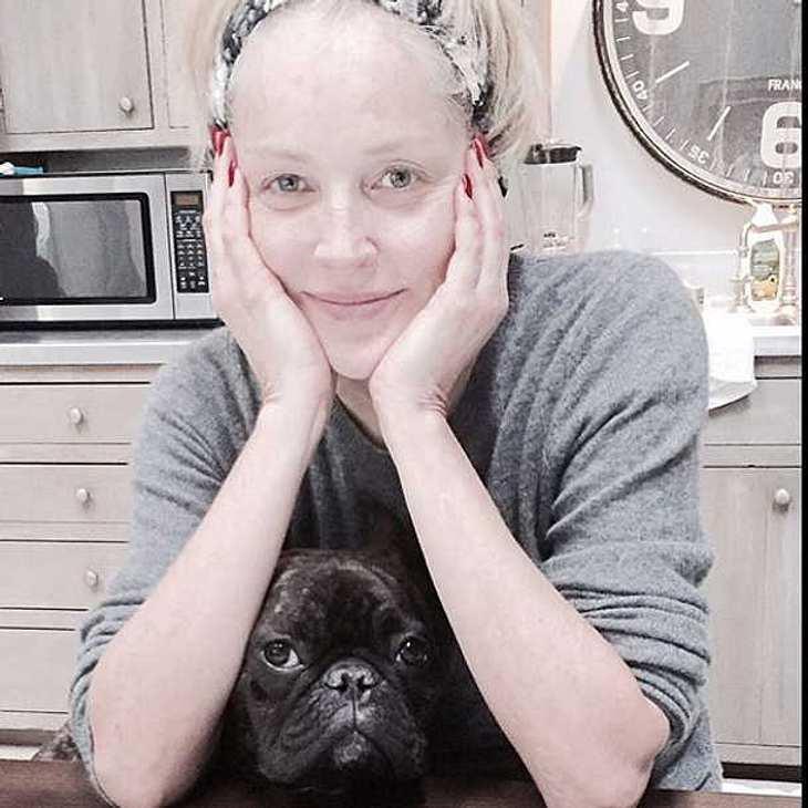 Sharon Stone. Ungeschminkt auf Instagram!
