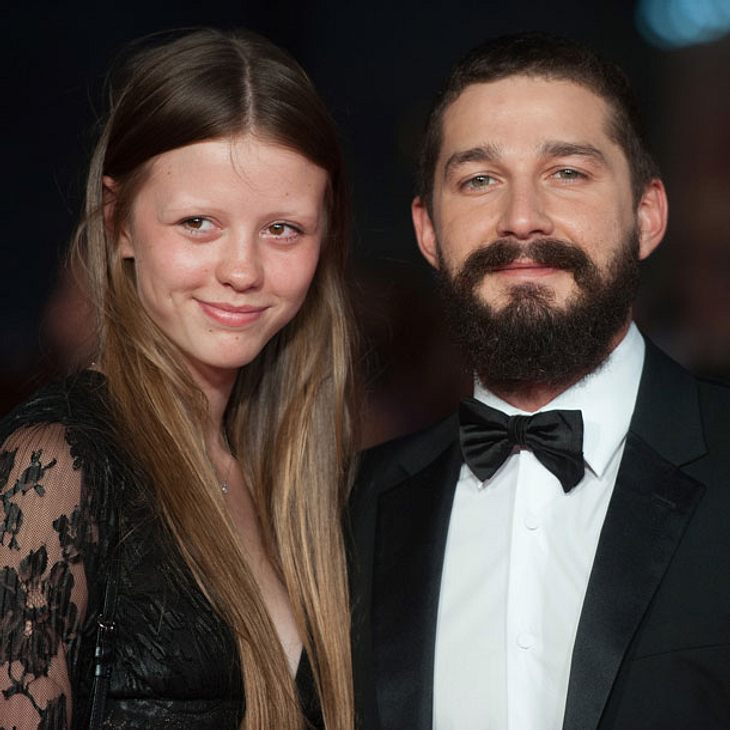 Shia LaBeouf hat Mia Goth geheiratet