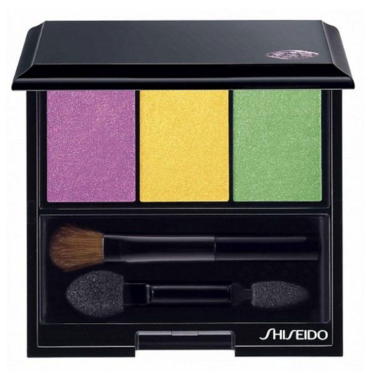 """Lidschatten für den Regenbogen-Look gibt es z.B. als Trio von """"Shiseido"""", um 39 Euro."""