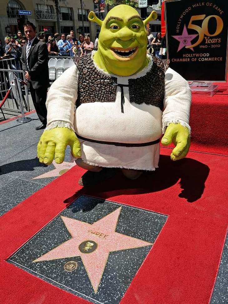 Walk of Fame: Die Sternstunde der Stars,2010 hat auch Shrek eine Stern bekommen.