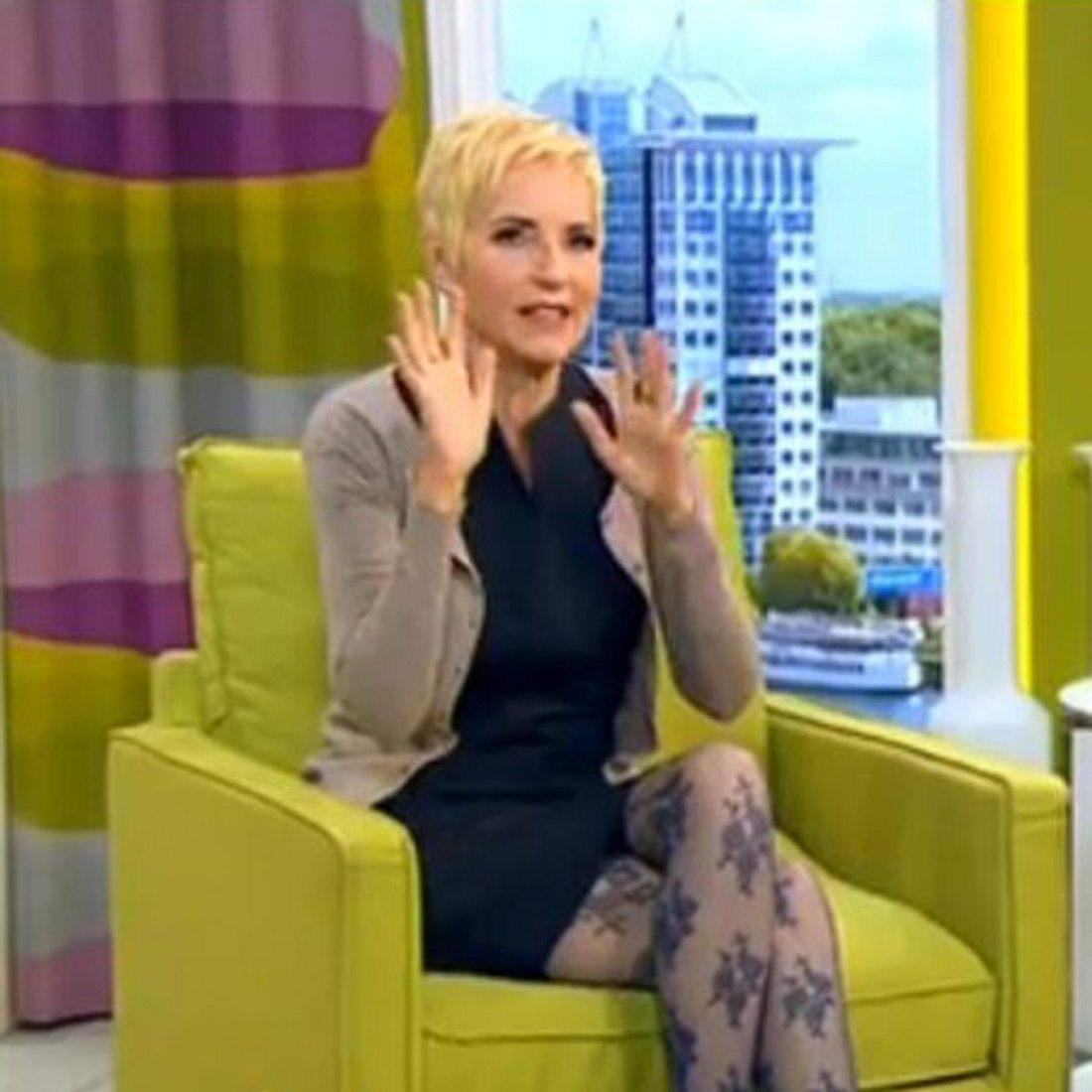 Sibylle Weischenberg nimmt Abschied vom Sat1-Frühstücksfernsehen.