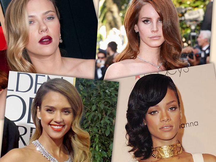 Sideswep Der Neue Frisuren Trend Der Stars Intouch