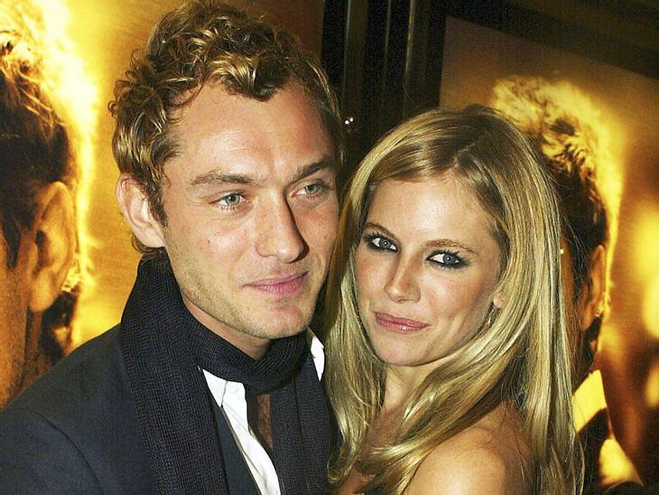 Sienna Miller und Jude Law schauen sich angeblich schon wieder nach einem gemeinsamen Liebesnest um