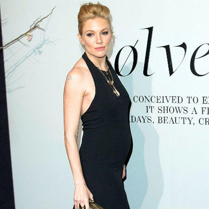 Verzichtet Sienna Miller auch während der Schwangerschaft nicht auf Alkohol?