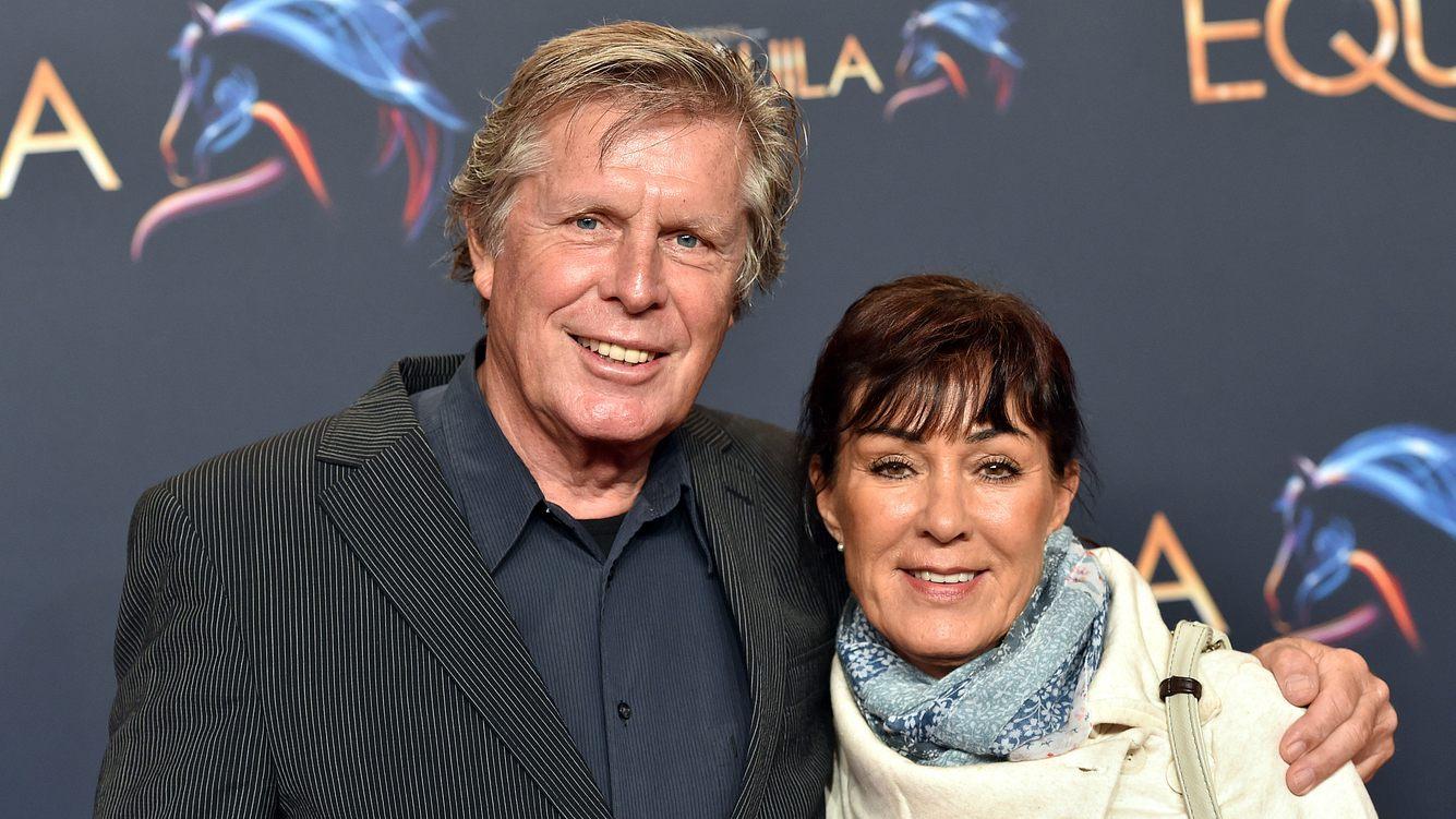 Sigmar Solbach heute mit seiner Frau Claudia