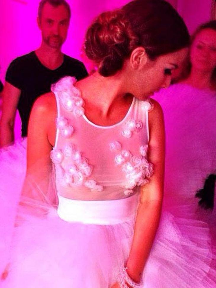 Trägt Sila Sahin hier ein Brautkleid?