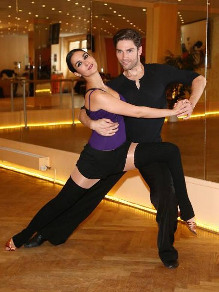 "Sila Sahin trainiert mit Tanzpartner Christian Polanc für ""Let's Dance"""