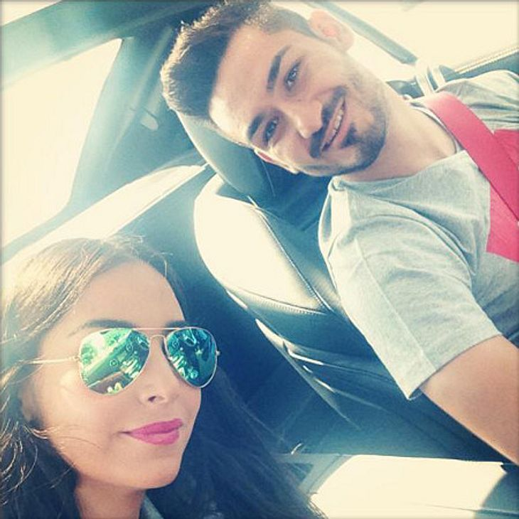 Das erste gemeinsame Bild von Sila Sahin und Ilkay Gündogan.