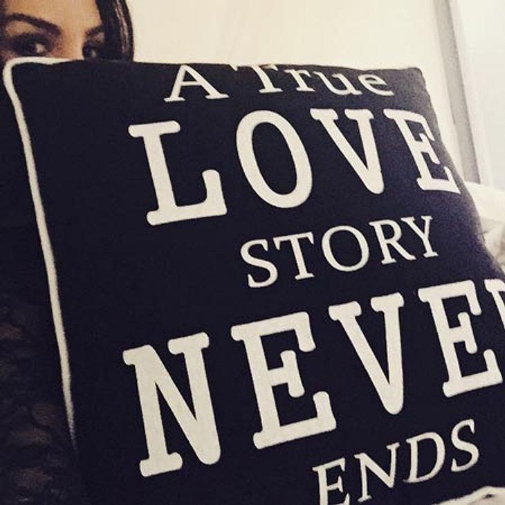 Sila Sahin macht ihrem Freund eine süße Liebeserklärung