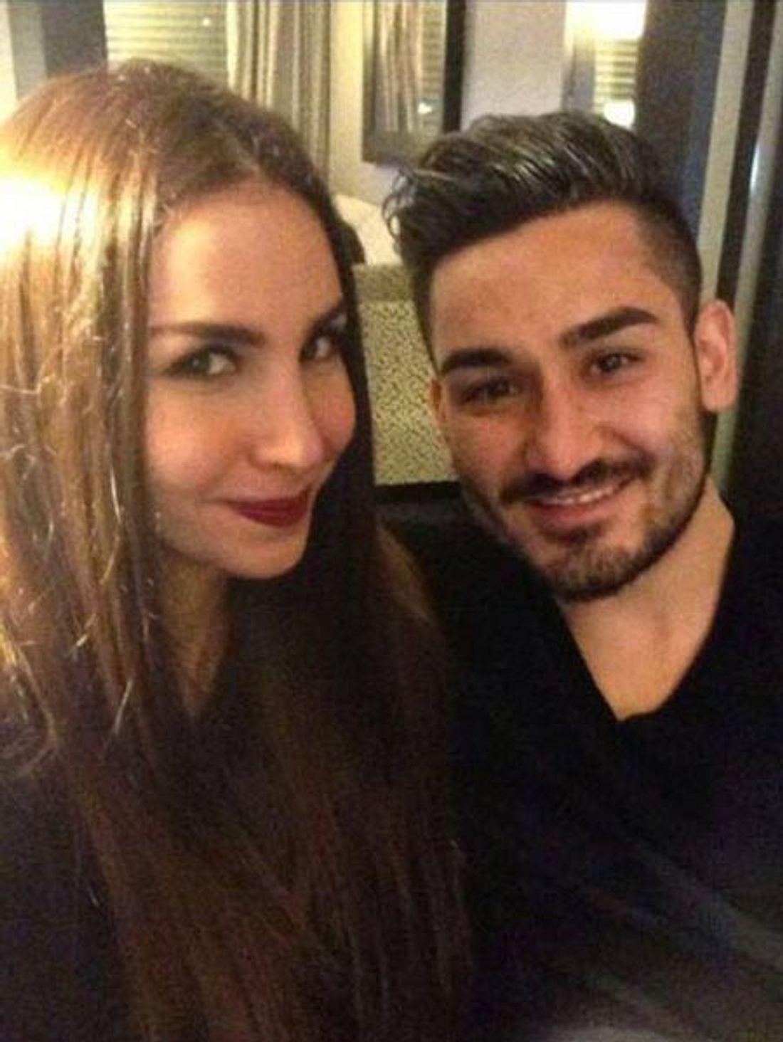 Sila Sahin und Ilkay Gündogan
