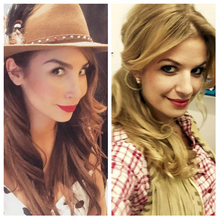 Sila Sahin unterstützt ihre Freundin Susan Sideropoulos via Videochat