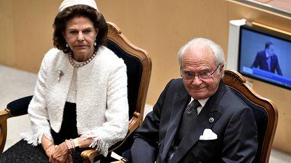 Königin Silvia und König Carl Gustaf - Foto: imago