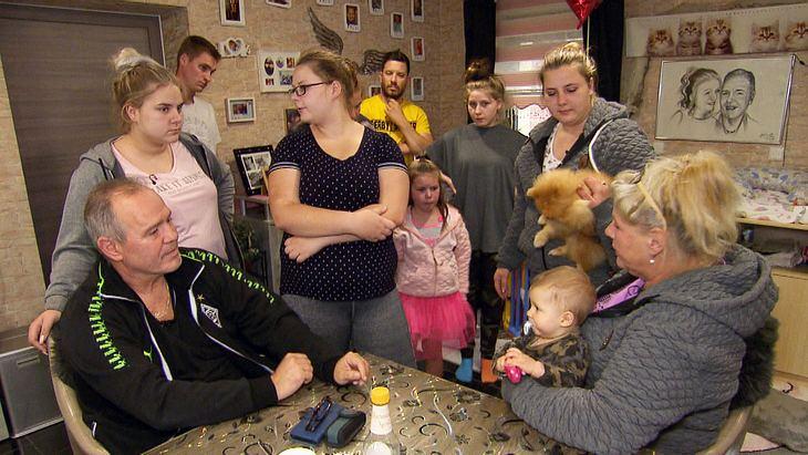 Silvia Wollny und ihre Familie