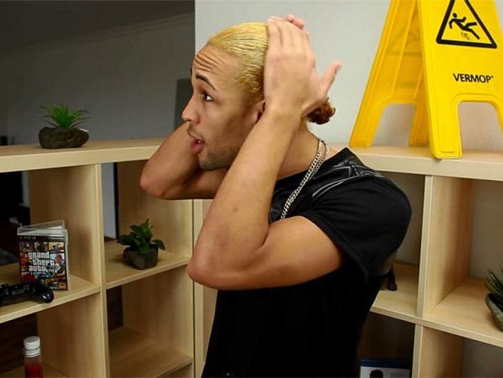 Haare blond farben wie lange