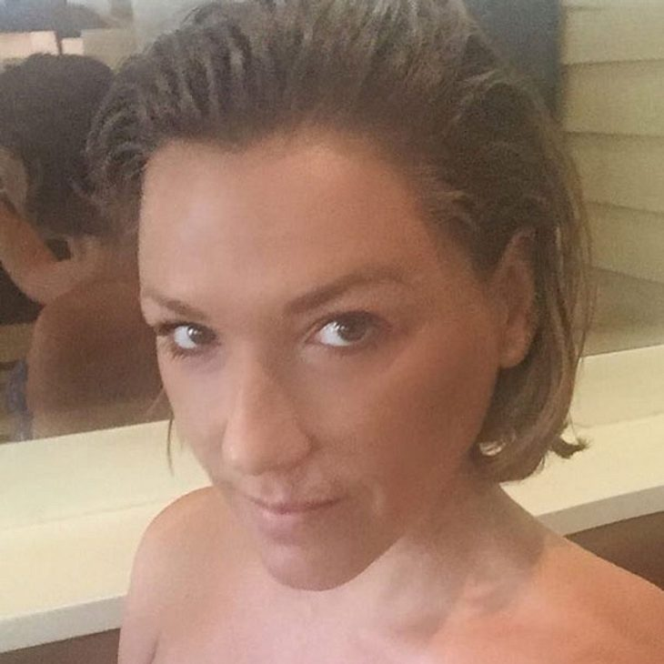 Simone Ballack hat die Haare ab