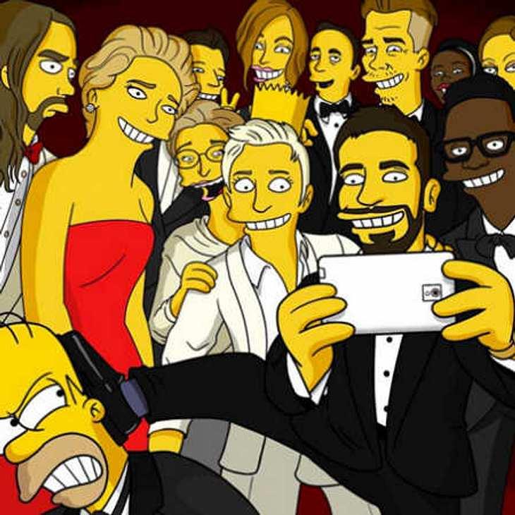 Die Simpsons kopieren Oscar-Selfie!