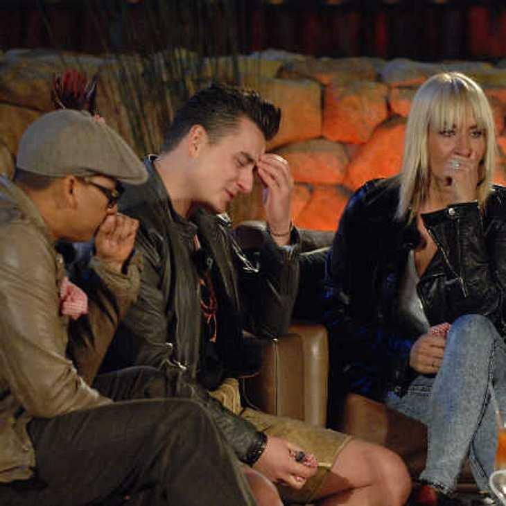 Xavier, Andreas und Sarah weinen bittere Tränen