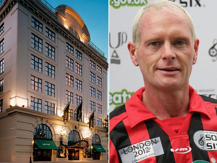 """Die Randale & Skandale der Stars""""Malmaison Hotel"""" in Newcastle  Von der Nobelherberge direkt in die PsychiatrieDem Fußball-Star Paul Gascoigne (45) bescherte im Jahr 2008 der Aufenthalt im stylischen """"Malmaison Hotel&quot"""