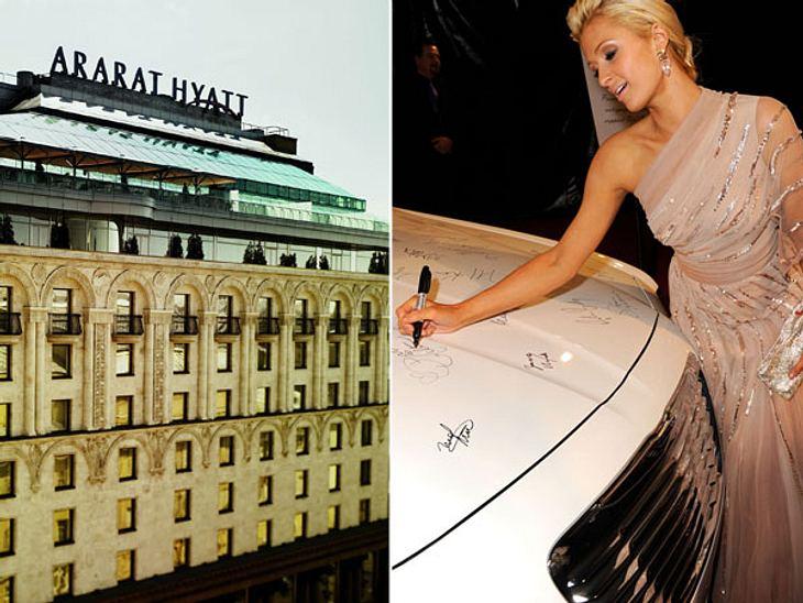 """Die Randale & Skandale der Stars""""Ararat Park Hyatt"""" in Moskau  Das unorthodoxe Verhalten einer Hotel-ErbinWie man sich in einem eleganten Stadthotel verhält, sollte It-Girl Paris Hilton (31) eigentlich wissen. Im """"Park Hy"""