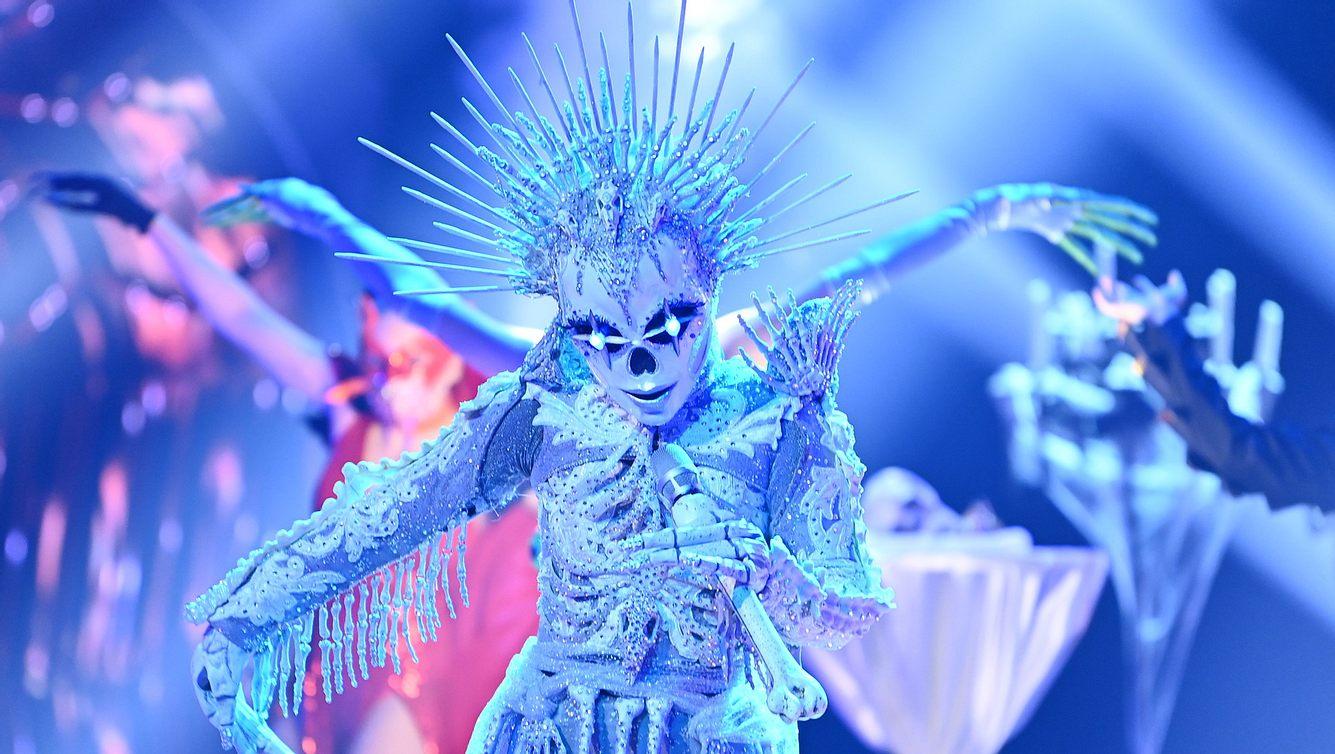 The Masked Singer Skelett