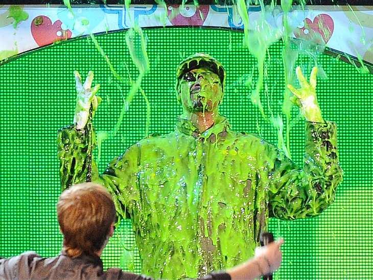 Kids Choice AwardsGanz cool blieb auch  Snoop Dog, kann eben nicht jeder so beliebt sein wie Justin Bieber.
