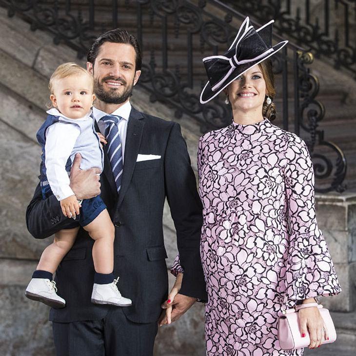 Sofia und Carl-Philip von Schweden: So heißt ihr Baby