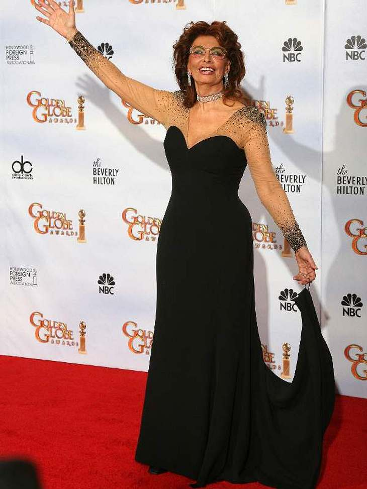 Schön wie eh und je präsentierte sich Sophia Loren bei den Golden Globes. Stimmen Sie jetzt ab über Top oder Flop!