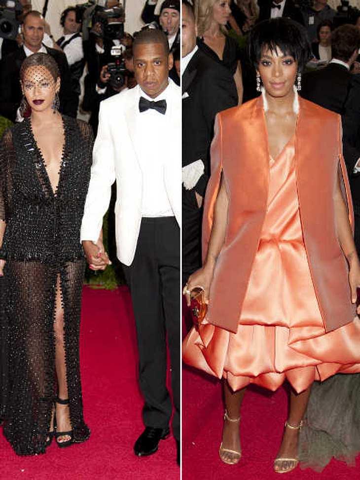 Solange Knowles attackierte Jay-Z im Fahrstuhl.
