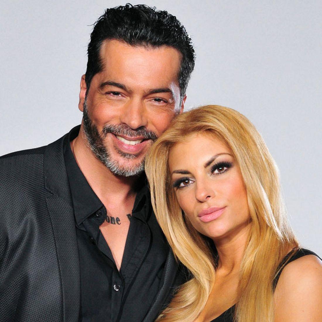 Aurelio Savina und Freundin Lisa Freidinger