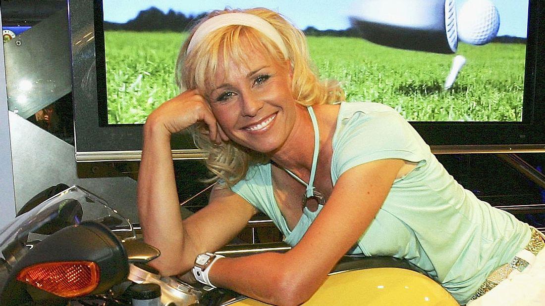 Sonja Zietlow mit langen Haaren