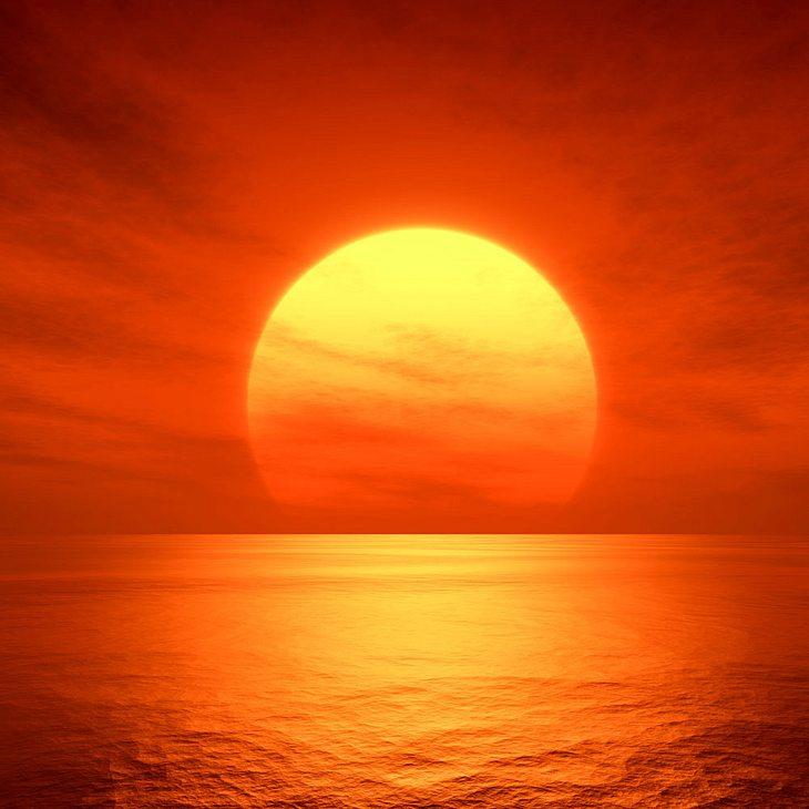 Unglaubliches Wetter-Phänomen!: Darum ist die Sonne rot!