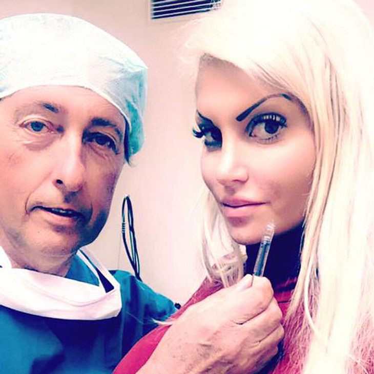 Sophia Wollersheim beim Beauty-Doc