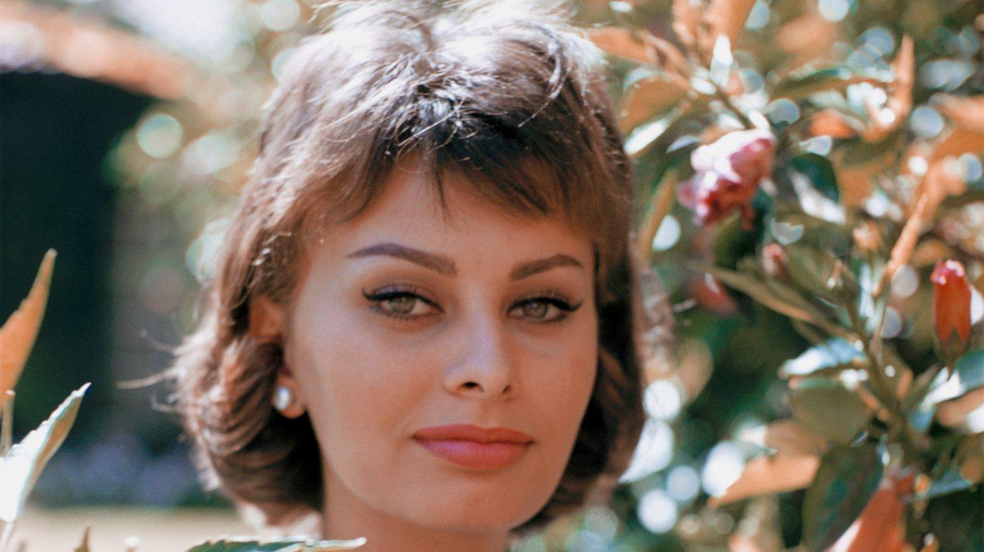 Sophia Loren jung