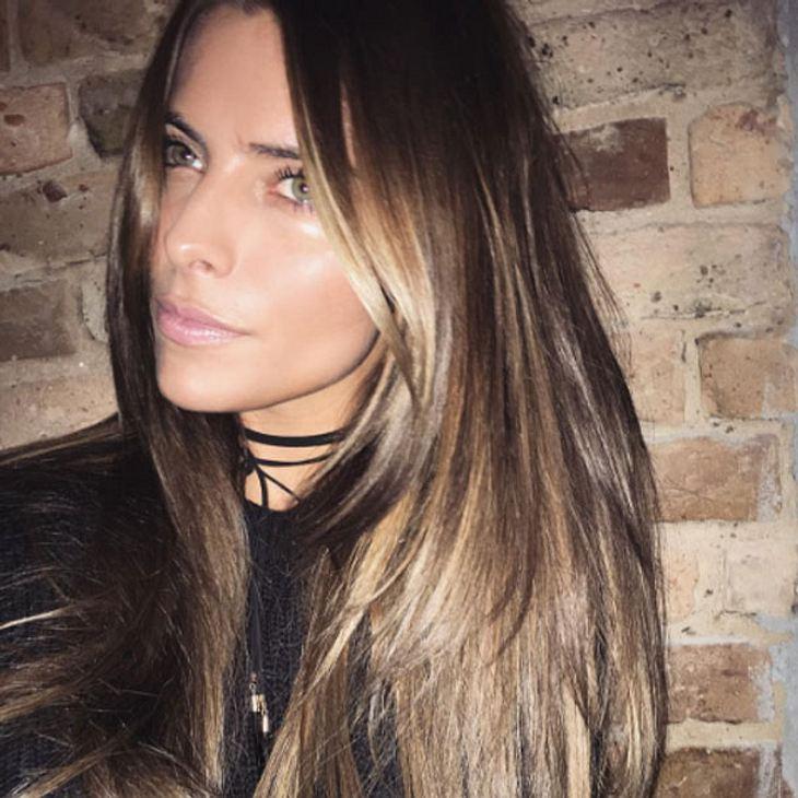 Sophia Thomalla hat jetzt braune Haare