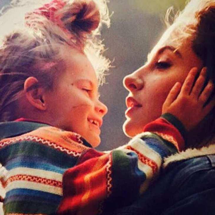 Sophia Thomalla Kinderfoto