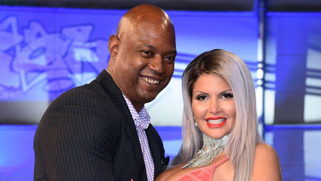 Sophia Vegas mit ihrem Mann Daniel Charlier