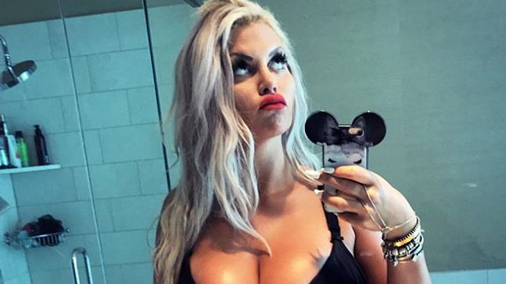Noch sieht man bei Sophia Vegas keinen großen Baby-Bauch