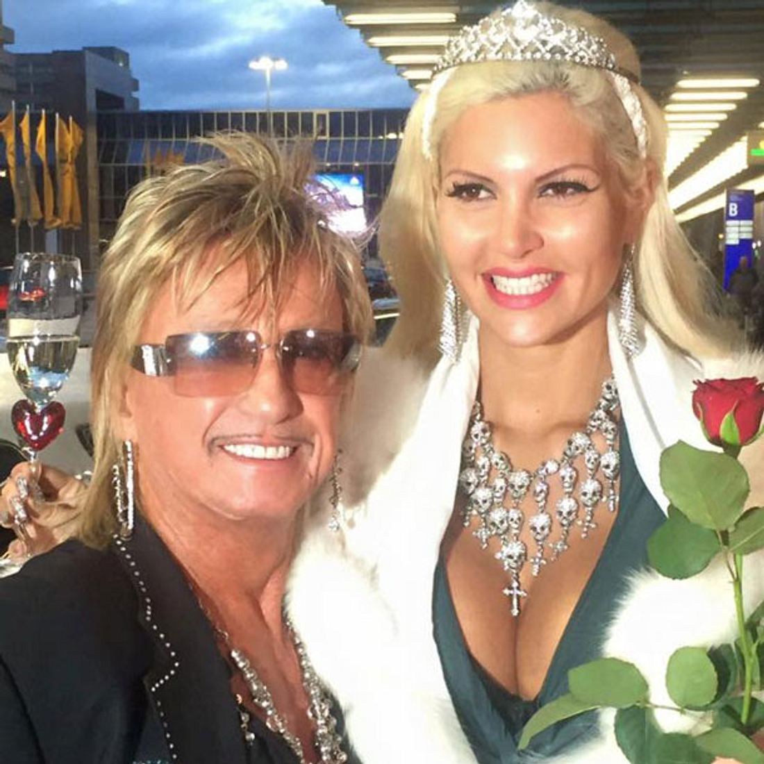 Sophia Wollersheim bekommt einen Prinzessinnen-Empfang