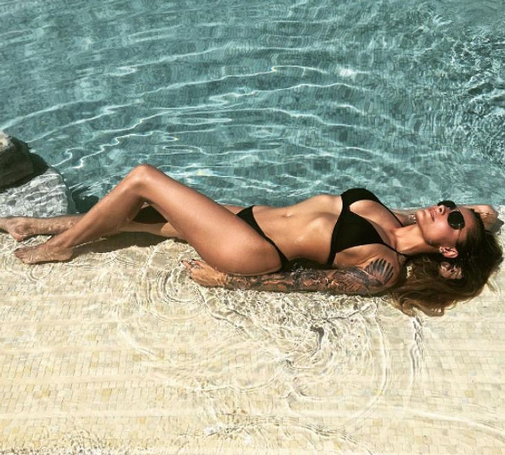 Sophia Thomalla zeigt gerne ihren schlanken Body