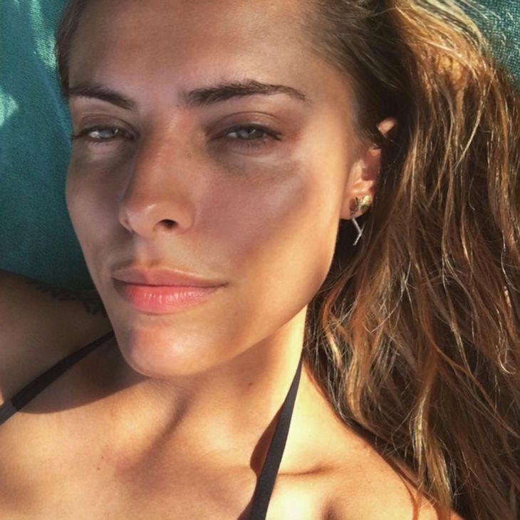 Natürlich schön: Sophia Thomalla zeigt sich ohne Make Up