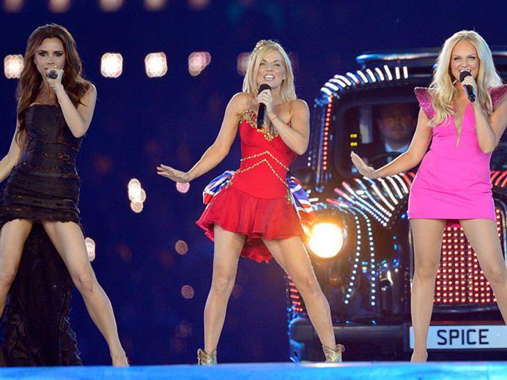 """Die """"Spice Girls"""" rockten ein allerletztes Mal die Bühne"""