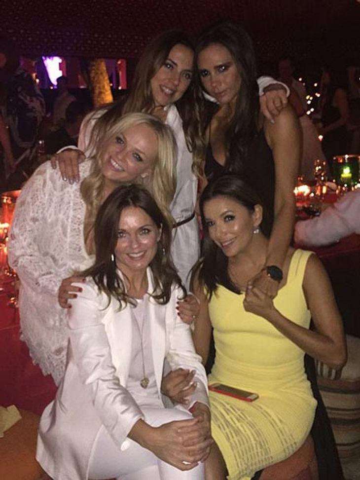 Die Spice Girls scheinen sich wieder blendend zu verstehen