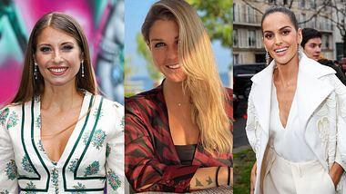 Spielerfrauen Cathy Hummels, Lina Meyer und Izabel Goulart - Foto: Imago/Instagram@_linamay_