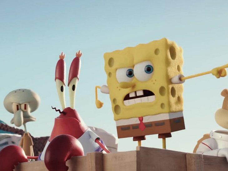 Spongebobs zweiter Kinofilm  ein Fest für unsere Lachmuskeln