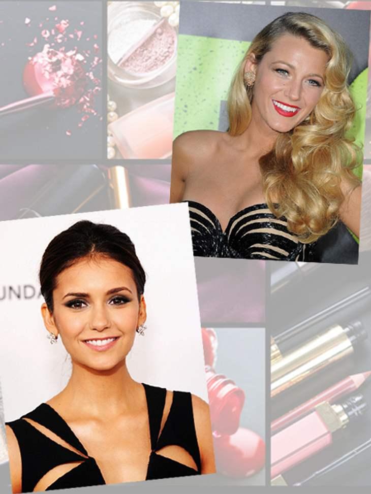 Star-Make-up nachschminken: So einfach geht's!,Schön sein wie ein Serienstar...Der Teint sieht makellos schön aus, die Augen strahlen, die Lippen glänzen - beim Make-up der Stars scheint alles perfekt zu sein. Und manchmal träumt man davon,