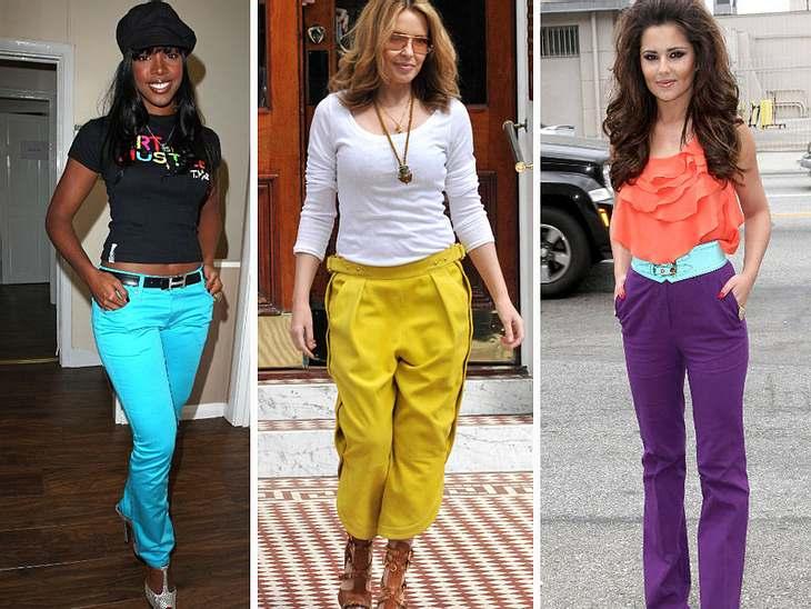 Star-Style: Bunte HosenColour Blocking ist der Modebegriff des Sommers. Knallbunt muss es eben sein! Besonders verliebt haben sich die Stars jedoch in ihre bunten Hosen. Ob nun kombiniert mit einem weißen Shirt oder mit einem ebenso bunten