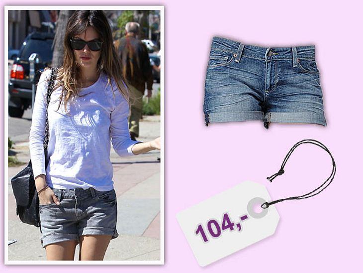 Star-Style: Das kosten die Designer-TeileRachel Bilson liebt die Jeans von Paige. Hier trägt sie die Jimmy Jimmy Short-Hose für 104 Euro. Bei www.paigeusa.com findet ihr die Stores.