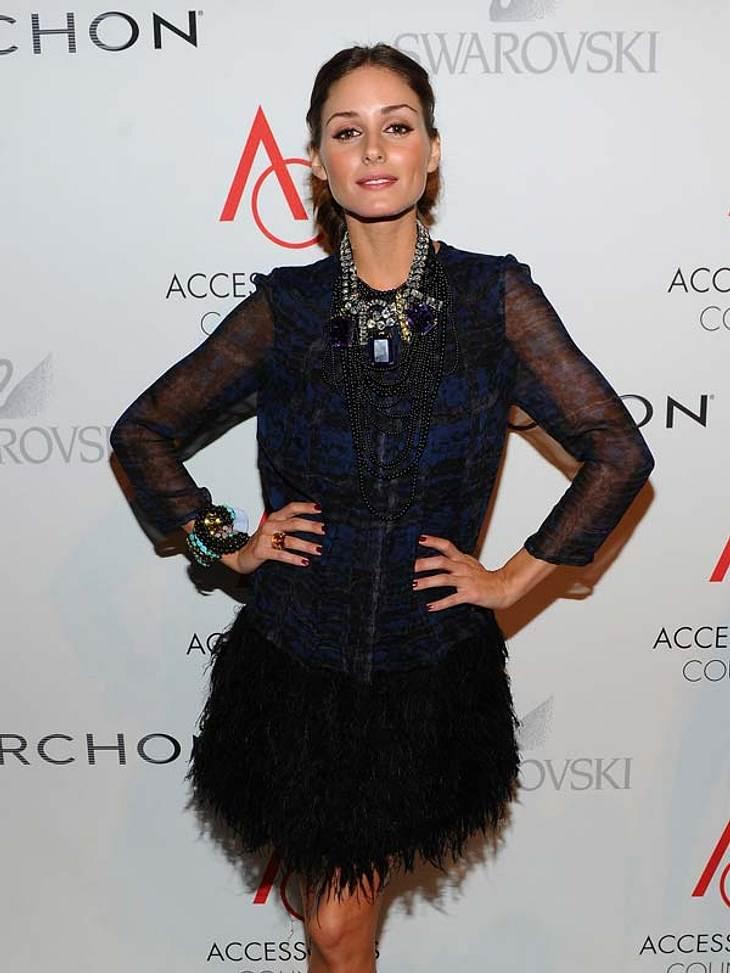 Star-Style: Olivia PalermoVom New Yorker Socialite Olivia Palermo würden wir glatt jeden Look nachstylen. Ok, für die modelnde Schmuckdesignerin mit Moderedaktionshintergrund ist es wohl auch nicht sonderlich schwer an die neuesten/teuerste