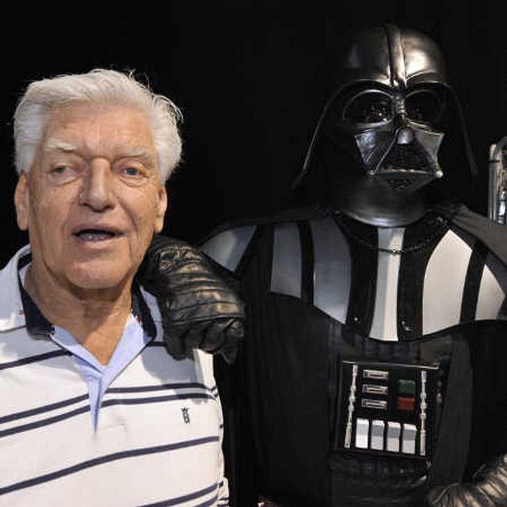 Star Wars-Bösewicht Darth Vader ohne Maske!
