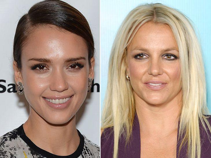 ,Diese Stars sind gleich altSowohl Jessica Alba (33), als auch Britney Spears (33) haben zwei Kinder. Brit ist von Skandalen nur so gebeutelt, Jessica nicht - und das sieht man.